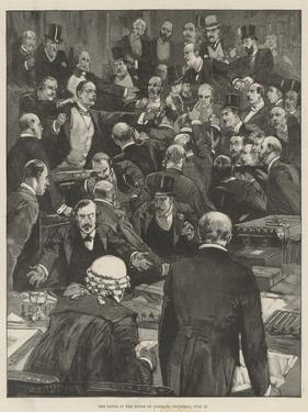 The Scene in the House of Commons, Thursday, 27 July by Thomas Walter Wilson
