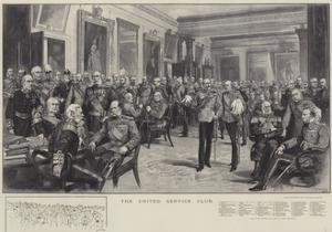 The United Service Club by Thomas Walter Wilson