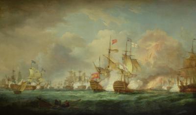 Battle of Trafalgar, 21st Oct. 1805