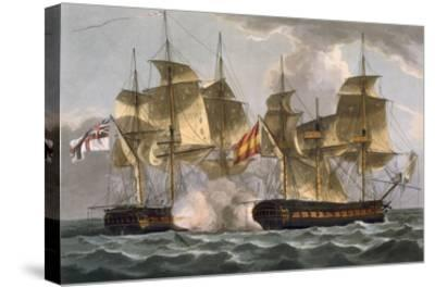 Capture of the Mahonesa, October 13th 1796, Engraved by Thomas Sutherland