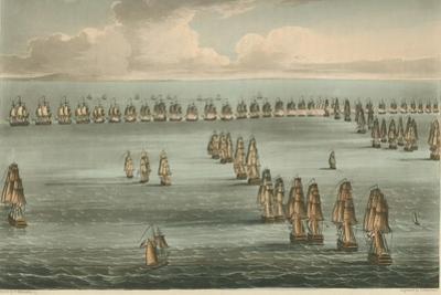 Commencement of the Battle of Trafalgar, 1805