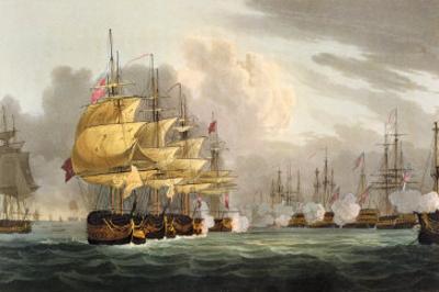 Destruction of Danish Fleet, Copenhagen, c.1801