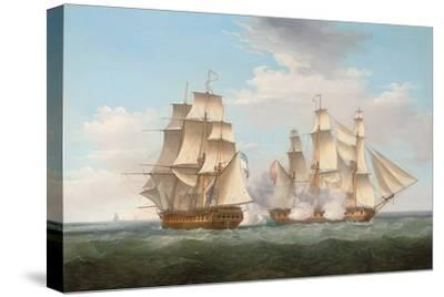 H.M.S. Ethalion in Action with the Spanish Frigate Thetis Off Cape Finisterre