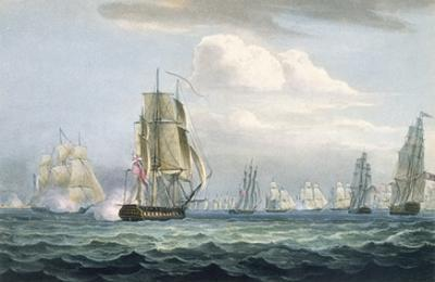 Sir Sidney Smith's (1764-1840) Squadron Engaging a French Flotilla, 26th May, 1804