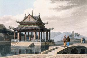 Chinese Pavilion, 1810 by Thomas & William Daniell