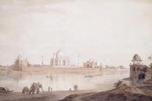 The Taj Mahal, Agra, Uttar Pradesh, 1789 by Thomas & William Daniell