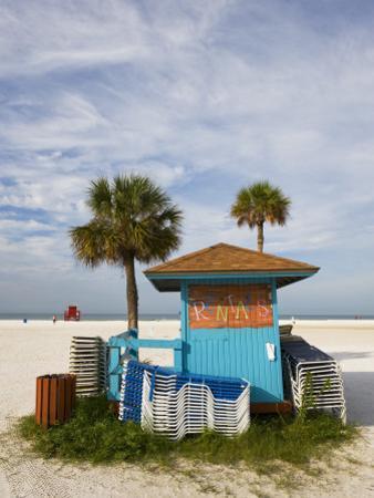 Beach Chair Rental Shack by Thomas Winz