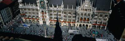 Marien Square with the Old City Hall, Munich, Bavaria, Germany