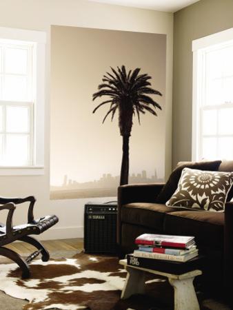 Palm Tree and Skyline