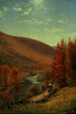 A Road Through Belvedere, Vermont by Thomas Worthington Whittredge