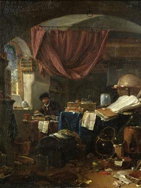 The Alchemist's Laboratory by Thomas Wyck