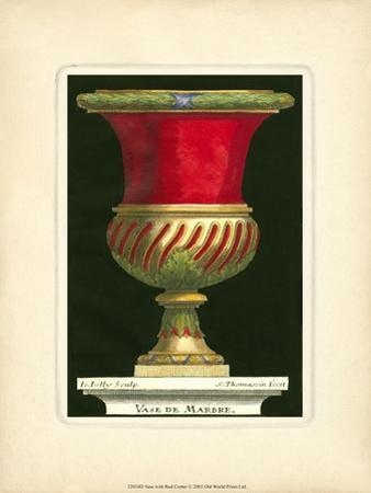 Vase with Red Center