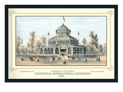 Arkansas Building, Centennial International Exhibition, 1876