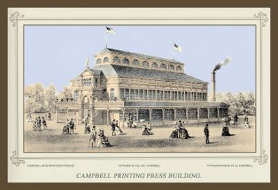 Campbell Printing Press Building, Centennial International Exhibition, 1876