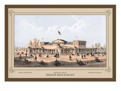 French Restaurant, Centennial International Exhibition, 1876