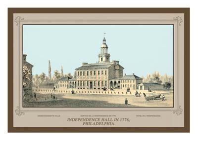 Independence Hall in 1776, Philadelphia
