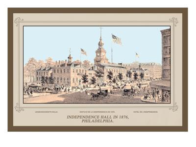 Independence Hall in 1876, Philadelphia
