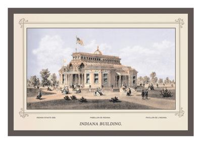 Indiana Building, Centennial International Exhibition, 1876