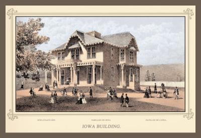 Iowa Building, Centennial International Exhibition, 1876