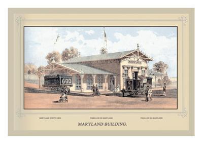 Maryland Building, Centennial International Exhibition, 1876