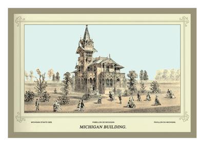 Michigan Building, Centennial International Exhibition, 1876