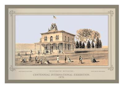 Wisconsin Building, Centennial International Exhibition, 1876
