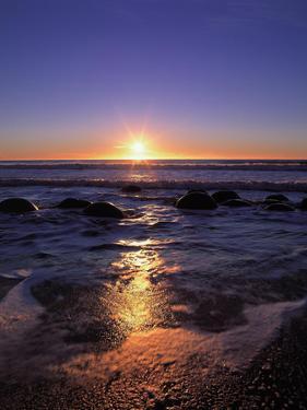 Coast, Sea, Rocks, Sunrise by Thonig
