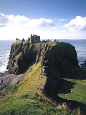 Great Britain, Scotland, East Coast, Grampian, Dunnottar Castle by Thonig