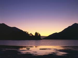 Great Britain, Scotland, Glenfinnan, Loch Shiel, Evening Mood by Thonig