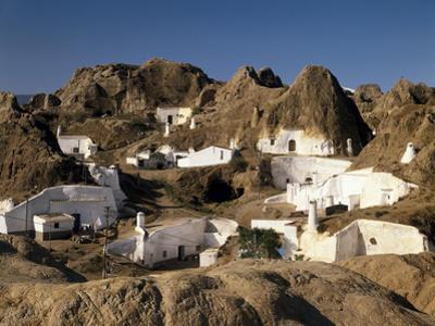Spanien, Andalusien, Guadix, Hv?Hlenwohnungen, Ansicht, Nahe Granada, Hv?Hlenstadt by Thonig