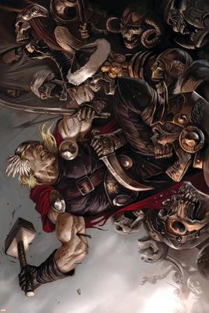 Thor: Ages Of Thunder - Reign Of Blood Cover: Thor