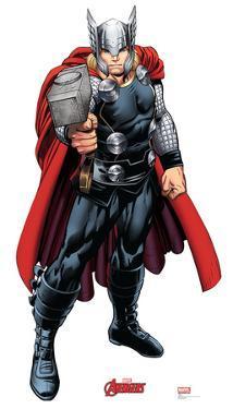 Thor - Marvel Avengers Assemble Lifesize Standup