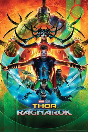 Thor: Ragnarok - Thor, Hulk, Valkyrie, Loki, Hela, Heimdall, Grandmaster