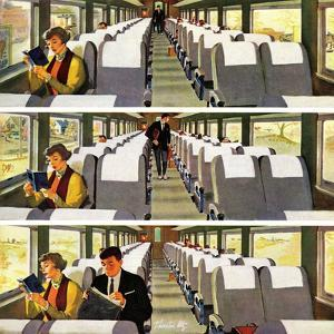 """Commuter Pickup"", September 15, 1956 by Thornton Utz"