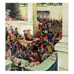 """""""Lost Child Department"""", December 20, 1958 by Thornton Utz"""