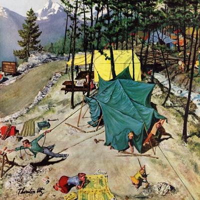 """Making Camp"", July 19, 1958"