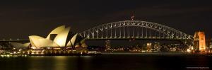Harbour Sydney, Opera and Harbour Bridge in Sydney, New South Wales, Sydney, Australia by Thorsten Milse
