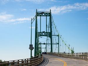 Thousand Islands international bridge in Ontario, Canada