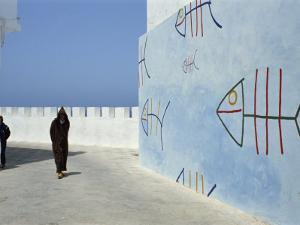 City Walls, Old Town, Asilah, Morocco, North Africa, Africa by Thouvenin Guy