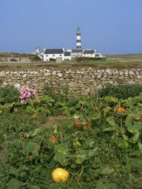 Creac'H Lighthouse, Ouessant Island, Finistere, Brittany, France, Europe by Thouvenin Guy