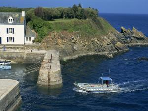 Lay Harbour, Ile De Groix, Brittany, France, Europe by Thouvenin Guy