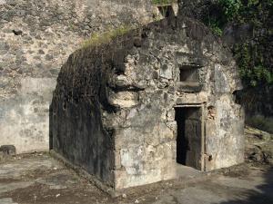 Louis Cyparis's Jail, Saint Pierre, Martinique, West Indies, Caribbean, Central America by Thouvenin Guy