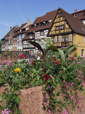 Quai De La Poissonnerie, Colmar, Alsace, France, Europe by Thouvenin Guy