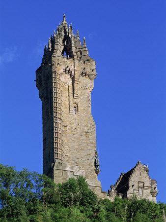 Wallace Monument, Stirling, Central, Scotland, United Kingdom, Europe