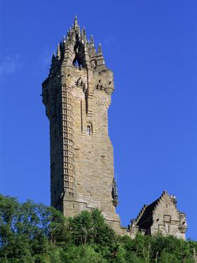Wallace Monument, Stirling, Central, Scotland, United Kingdom, Europe by Thouvenin Guy