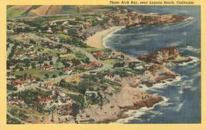 Three Arch Bay, Laguna Beach, California