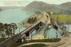 Three Bridges at Steubenville