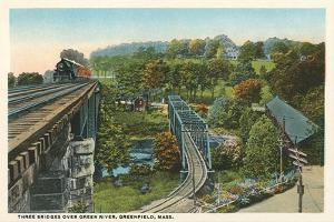 Three Bridges over Green River, Greenfield
