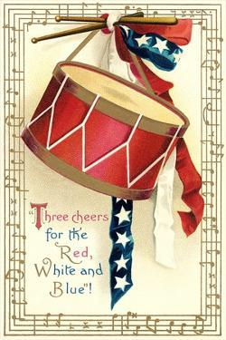 Three Cheers for the Red, White, Blue