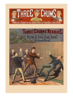 Three Chums' Resolve